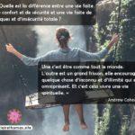 Citation d'Andrew Cohen