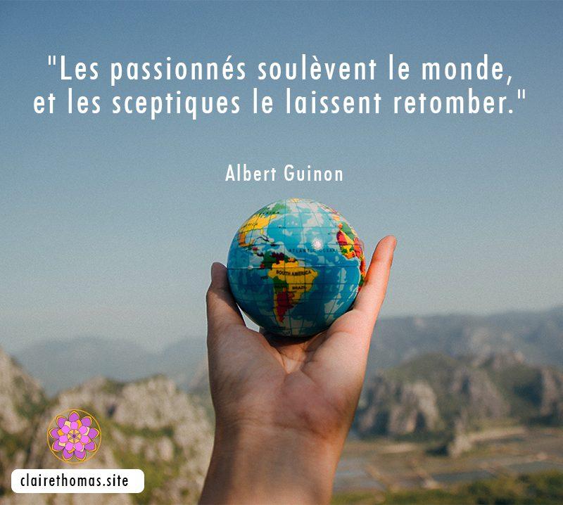 Citation d'Albert Guinon