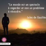 Citation de Jules Gaultier