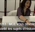 BAC 2013 : Histoire Géo pour la filaire littéraire avec MCE