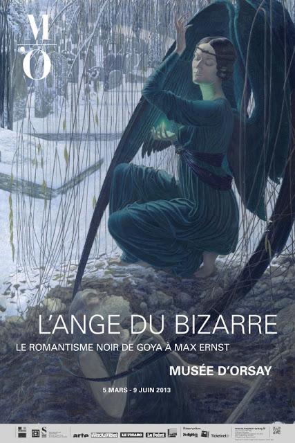 Affiche Exposition l'Ange du Bizarre