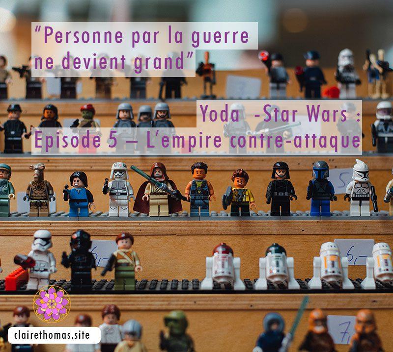 Citation de Maître Yoda