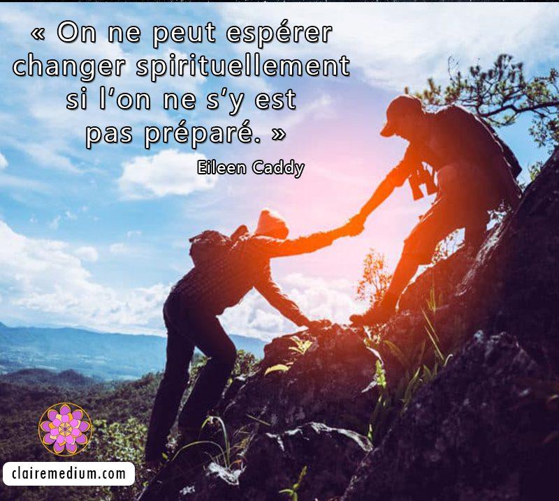 La citation du jour de Eileen Caddy