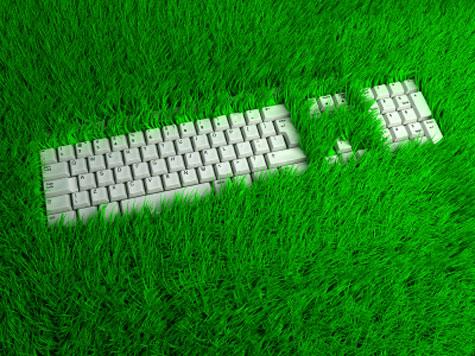 notre planete clavier herbe claire thomas medium