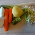 Recette : bouillon de légumes