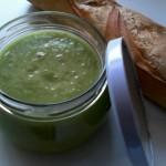 Recette : soupe froide verte