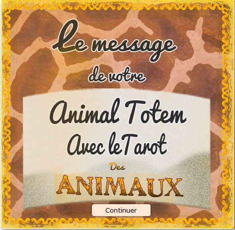 Tirage Gratuit : Tarot des animaux