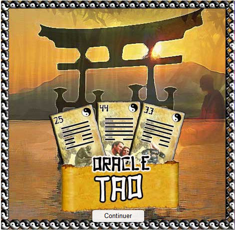 Tirage Gratuit : Oracle TAO