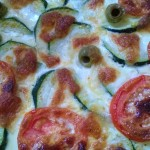 Recette : tarte courgettes/tomates