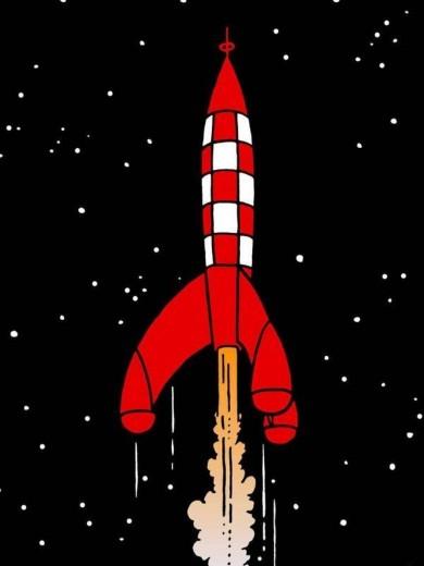 Rêves  rêver de fusée ⋆ Claire Thomas Medium