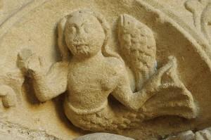 Image de sirène au XIIème siècle