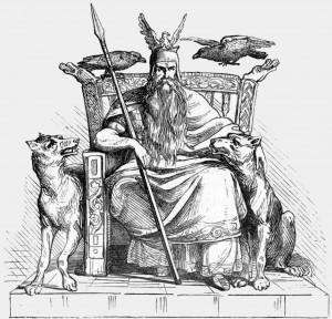 Odin-trone