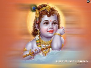 Krishna enfant