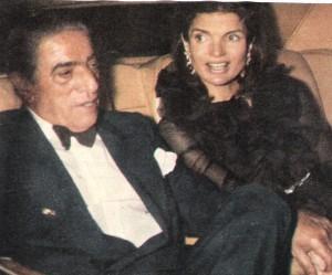 Aristote Onassis et Jackie Kennedy