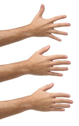 écartements doigts