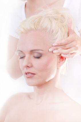 Schmerztherapie - sanfte Massage