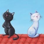Interprétation du rêve de Nina : bataille entre 2 chats