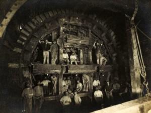 Les ouvriers du métro de Londres ont connu quelques émotions fortes...