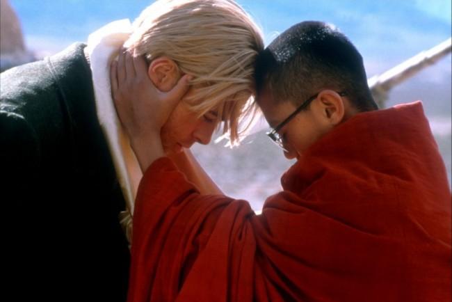 Brad Pitt et Jamyang Wangchuck