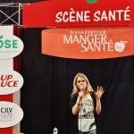 Jacynthe René en conférence à Expo Manger Santé à Québec, mars 2015.
