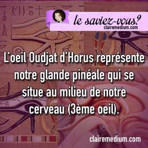 Llesaviez-vous-oeil-horus-glande-pineale