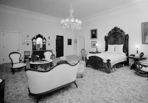 la chambre du Président Lincoln au cœur de phénomènes étranges.