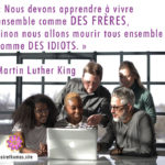 La citation du jour de Martin Luther King