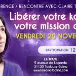Conférence à Toulouse le 20 novembre à 20h