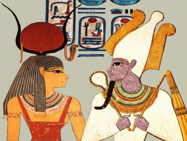 ISIS et OSIRIS UNE CLAIRE THOMAS