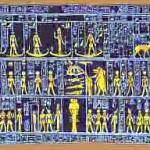 Les signes de l'astrologie égyptienne : Le Nil et Amon-Râ