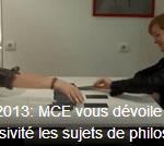 BAC 2013 : Mes ressentis pour le bac philo ES 2013 avec MCE