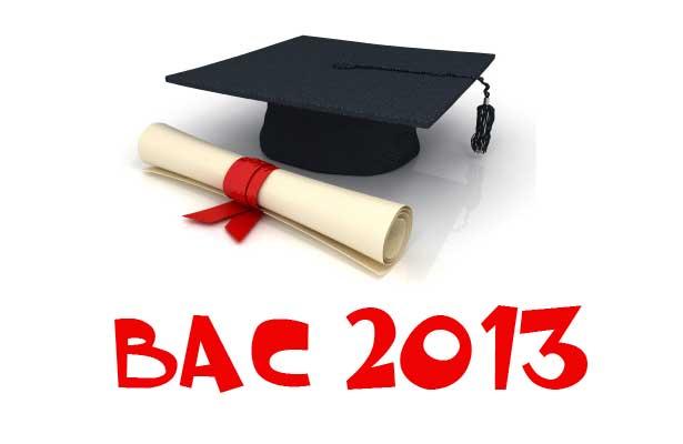 Mes prévisions pour le BAC 2013 avec MCE