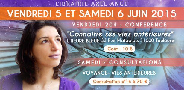 Retrouvez-moi à Toulouse le 5 et 6 juin 2015