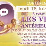 Conférence sur les vies antérieures à Troyes