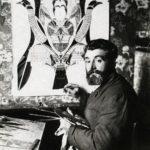 Portrait d'Augustin Lesage, peintre et  medium spirite