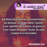 Le saviez-vous ? Bob Marley et le mouvement rastarafi
