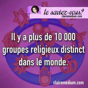 Le saviez-vous ? Religion