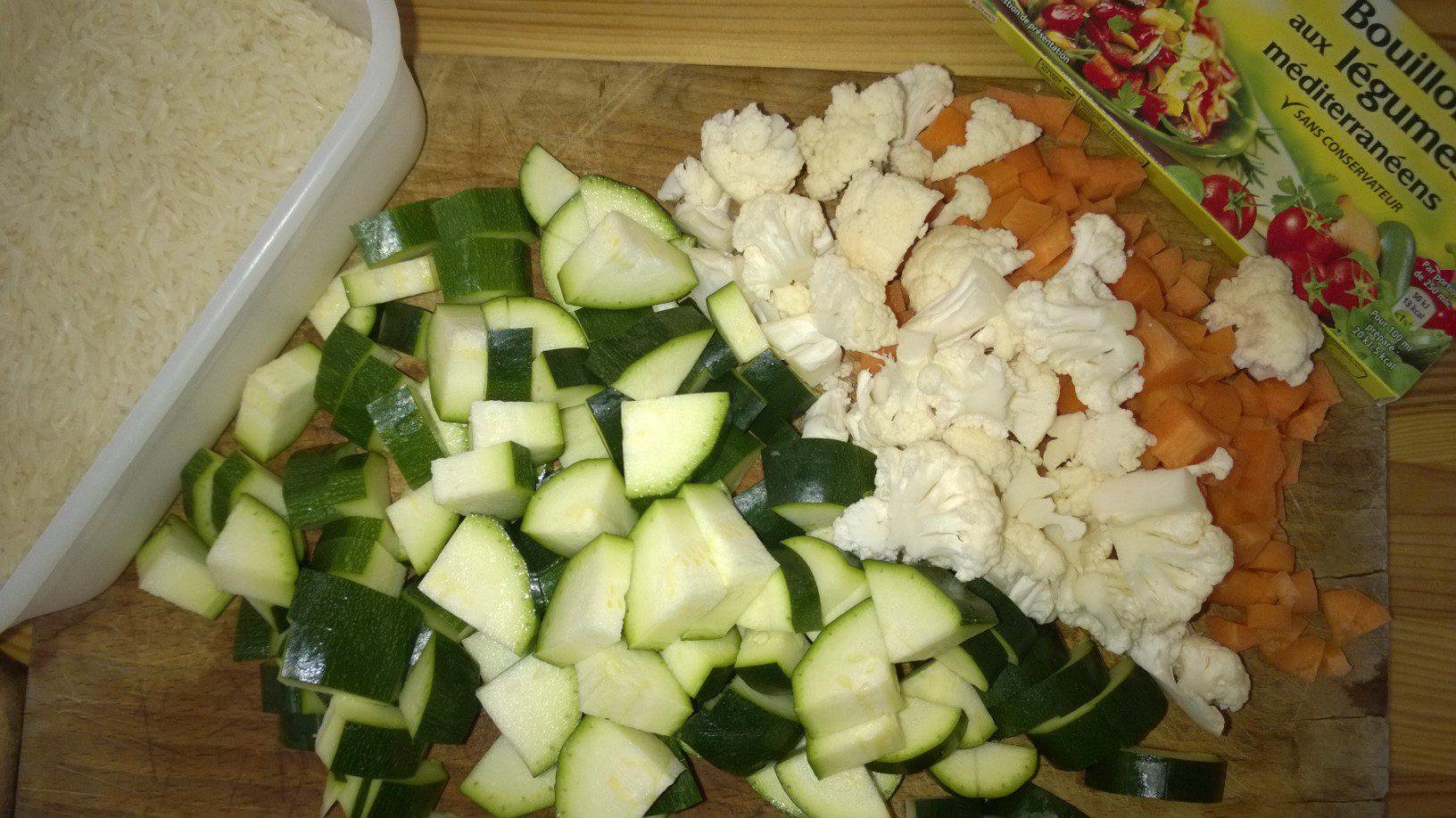 Comme un risotto aux légumes