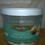 Gros plan sur l'huile de coco