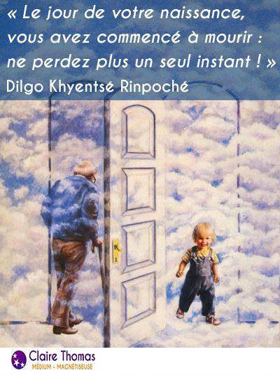 La citation du jour de Dilgo Khyentsé Rinpoché