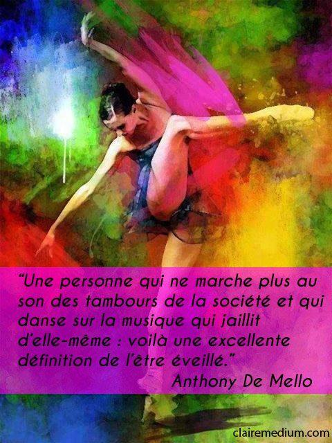 La citation du jour par Anthony De Mello