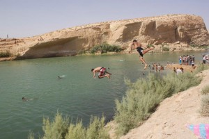 Le lac de Ghafsa : une apparition mystèrieuse