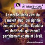 Le saviez-vous ? L'etymologie de Bouddha
