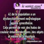 Le saviez-vous ? la synesthésie