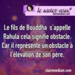Le saviez-vous ? Bouddha et son fils