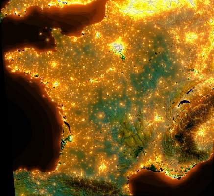 Notre planète : La photopollution