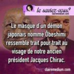 Le saviez-vous ? Chirac et le démon Ôbeshimi
