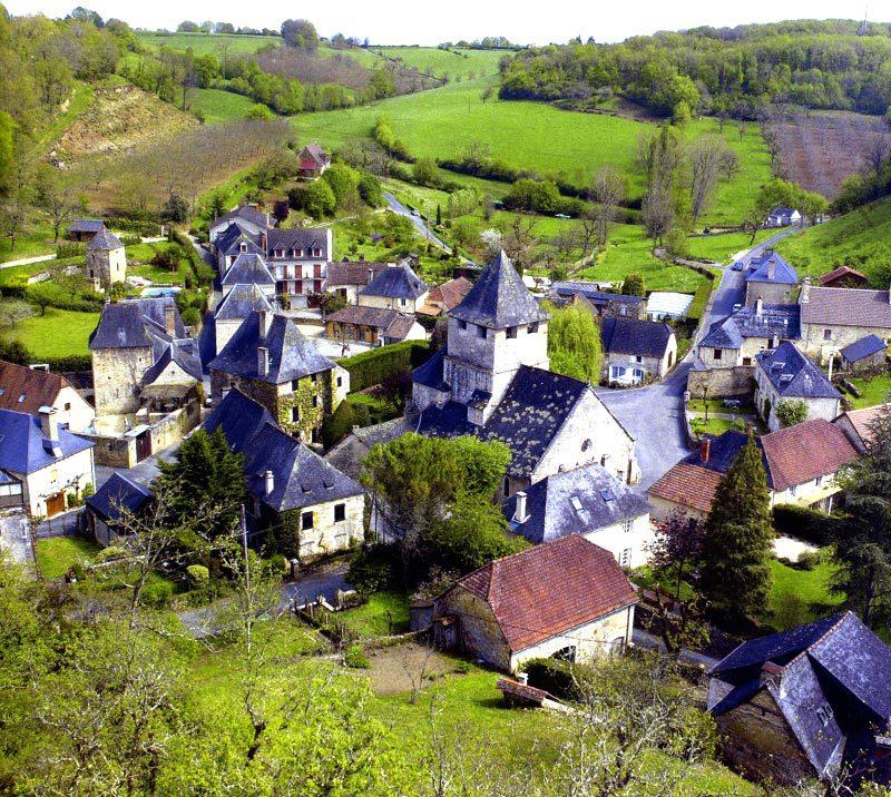 Rêves : rêver d'un village