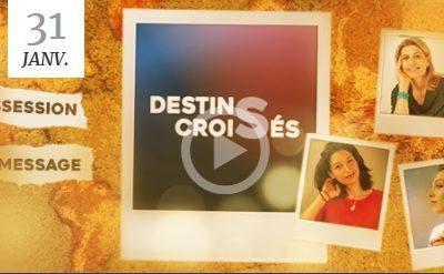 """Retrouvez-moi sur l'INREES TV dans """"Destins croisés"""""""