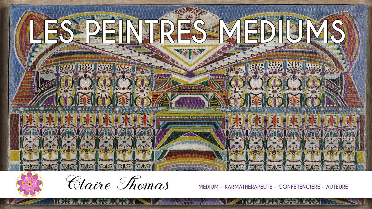 3 emission les peintres m diums claire thomas medium karmath rapeute. Black Bedroom Furniture Sets. Home Design Ideas